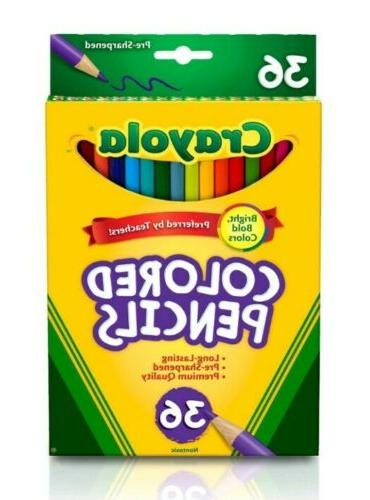 Colored Pencils box of 36