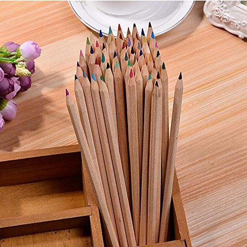 Sunworld Colored Pencils for Adults Set of 50 Assorted