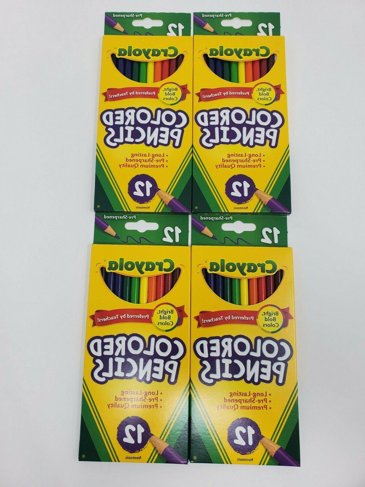 Crayola Colored Pencils 7 In. Extra Long