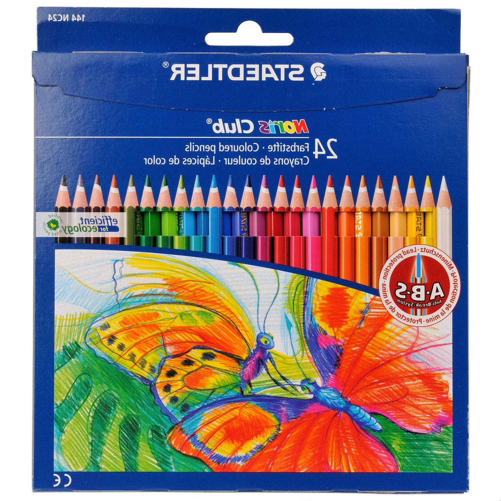 Staedtler pencils Norris Club erasable colored pencil 24 col
