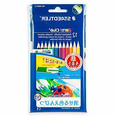 Staedtler pencils Norris Club erasable colored pencils 12 co