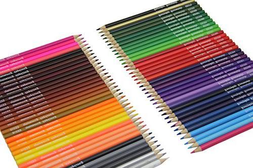 Pencils 72 Individual with Pen Bag