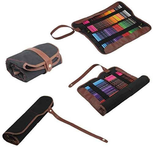 Everyday Pencils - 72 Roll Pouch Canvas Pen