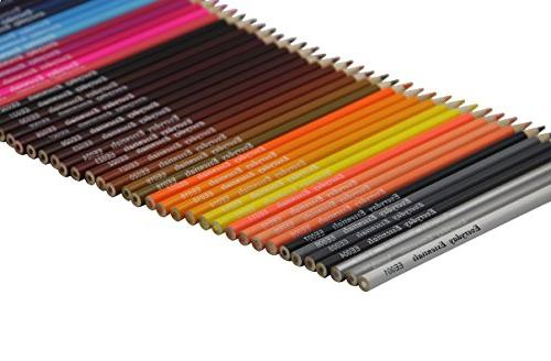 Everyday Essentials Premium Pencils - 72 Roll up Pouch Canvas Pen Bag