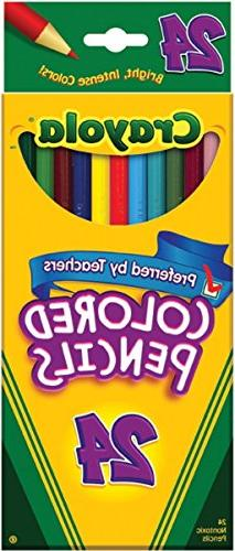 Colored Pencils - 24 pack - assorted colors