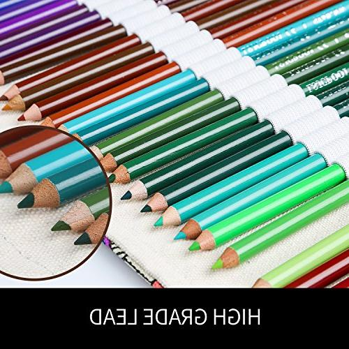 Colored Adult New and Artist Pencils, Handmade Pencil Wrap, Holiday Colored Pencil