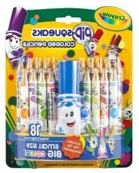 Crayola Pip-squeaks Pencils Colored 18 CT