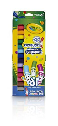 Crayola Pip -Squeaks Washable Markers, 16