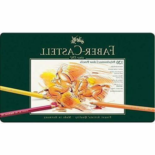 faber castell polychromos artists color pencils tin