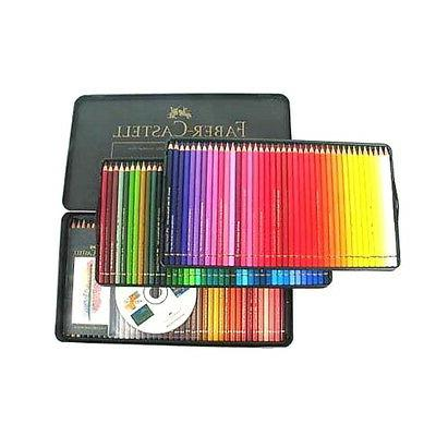 Free Gift Faber Castell Polychromos Color Pencils Metal tin Set of 72 Artists