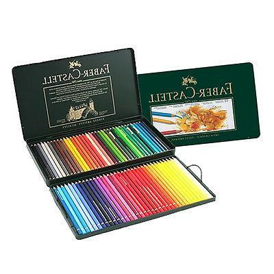 Faber Castell Polychromos Color Pencils Metal tin Set of 72