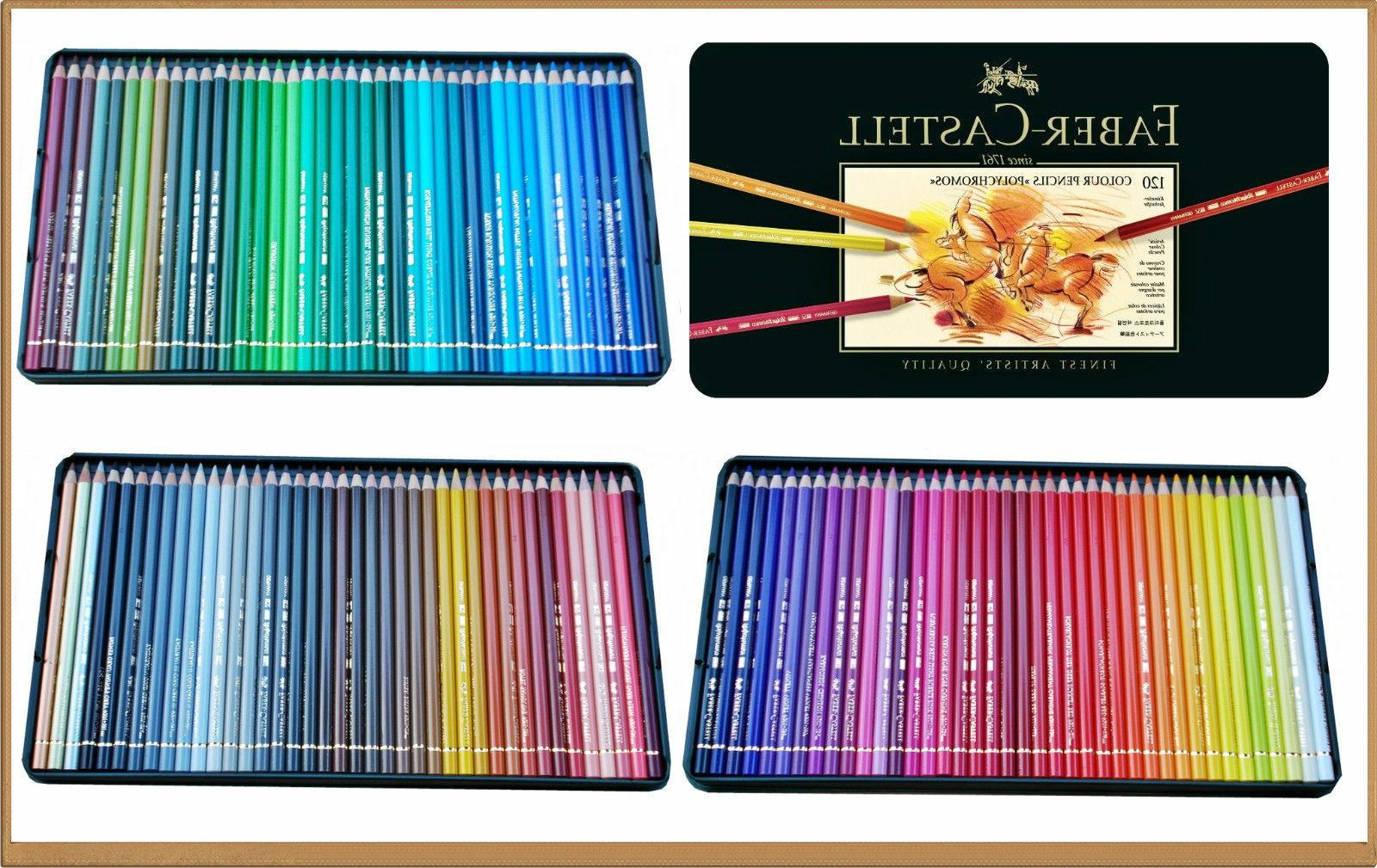 Polychromos Colored Set In Metal Tin