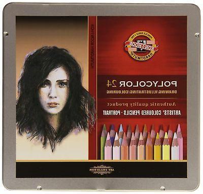 polycolor 24 artists pencils 3824