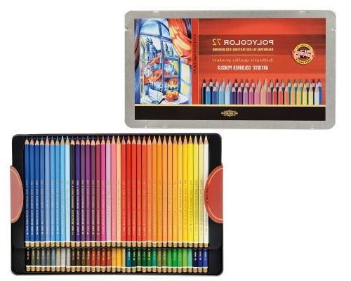 Koh-I-Noor Drawing Pencil Set, 72 Assorted Pencils Each
