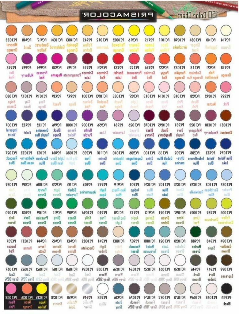 PRISMACOLOR Colored Pencils: Pick any 150 colors+Colorless
