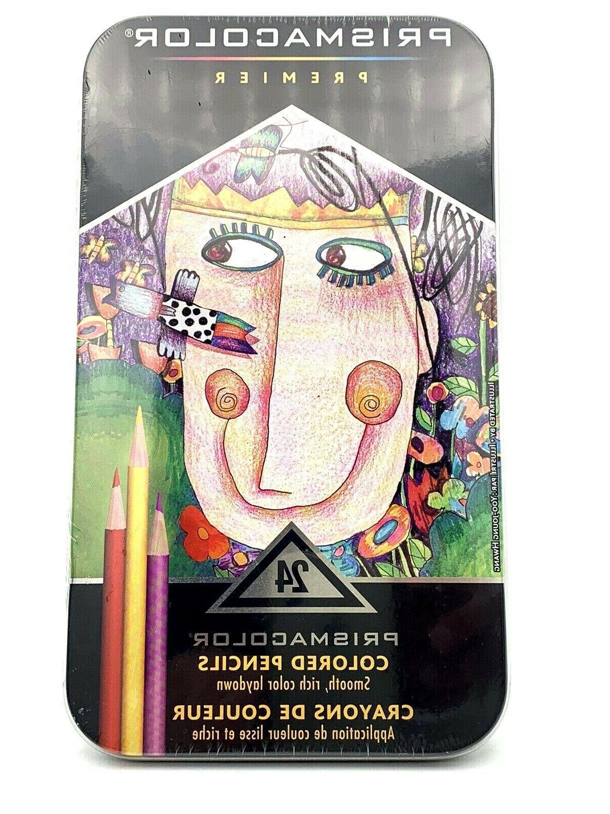 premier colored pencils set of 24 new