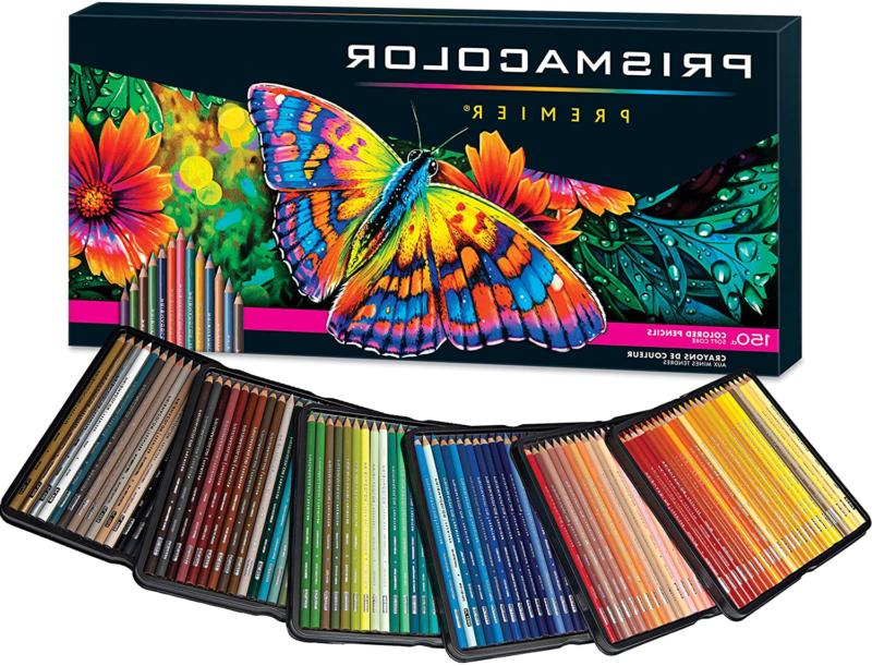 Prismacolor Premier Colored Pencils 150 Count, Soft Core, Bl