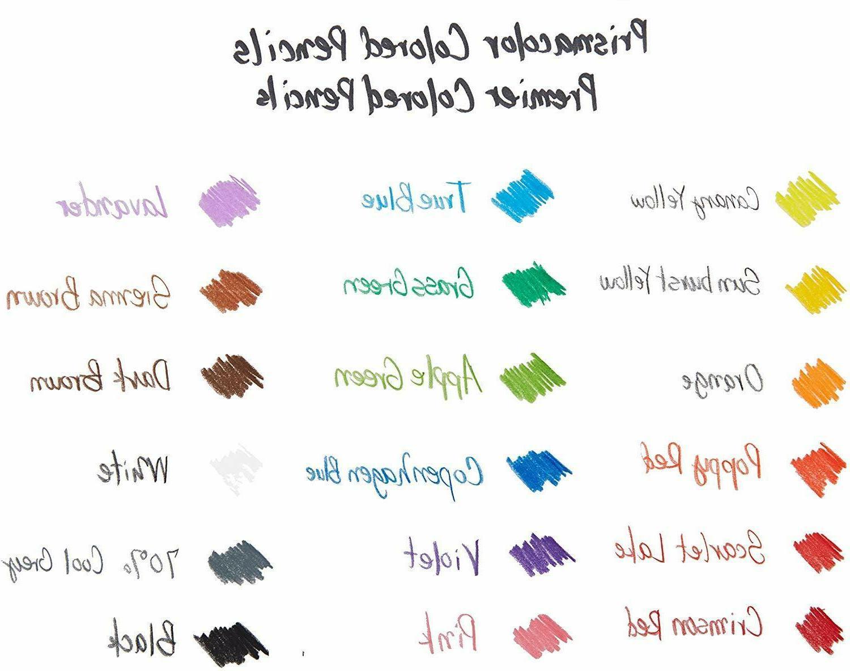 Prismacolor Soft Colored 48 Pencils