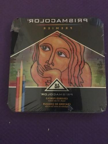 48 piece colored art pencil set multicolor