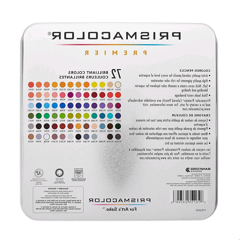 Prismacolor Soft Core Count Set 72