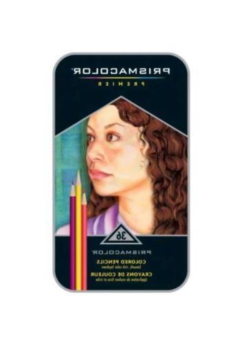 premier soft core colored pencil set of