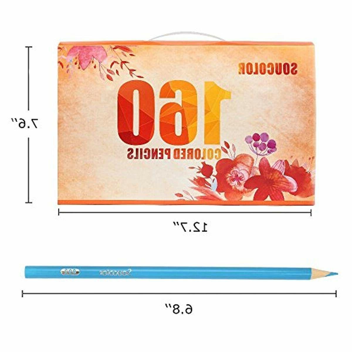 Soucolor Soft Colored Pencils resist cracking