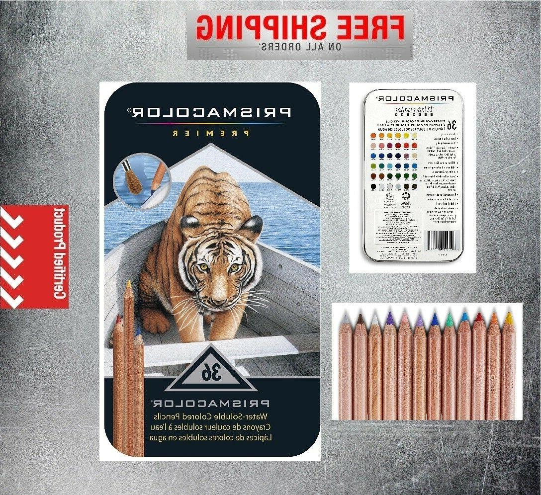premier water soluble colored pencil 36 set