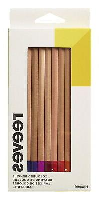 Reeves Premium Quality Colored Pencil, Assorted Colors, Set