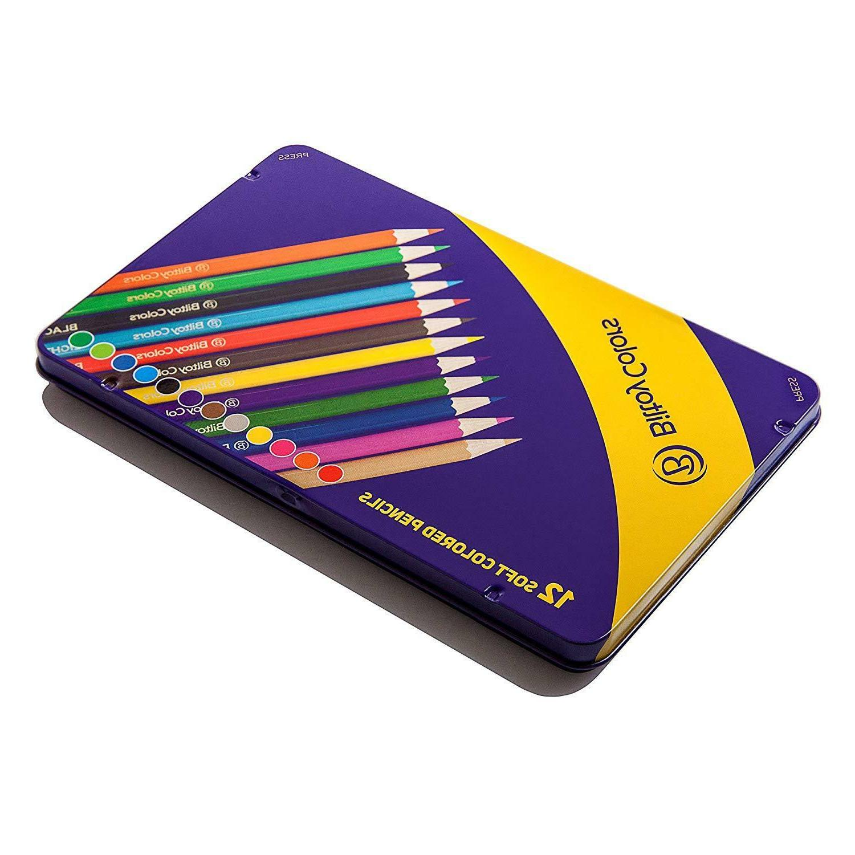 Premium Quality Pencils, Assorted 12
