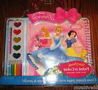 Disney Princess Storybook Paint N Color Activity Kit-Paint-C