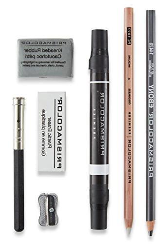 Prismacolor 3750 Premier Colored Pencil Accessory Kit Blenders Set, Multi