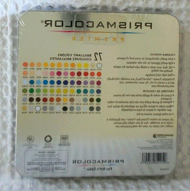 Prismacolor Premier 72-Count + Gift