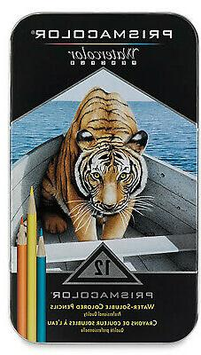 Prismacolor Premier Water-Soluble Colored Pencils 12 Count W