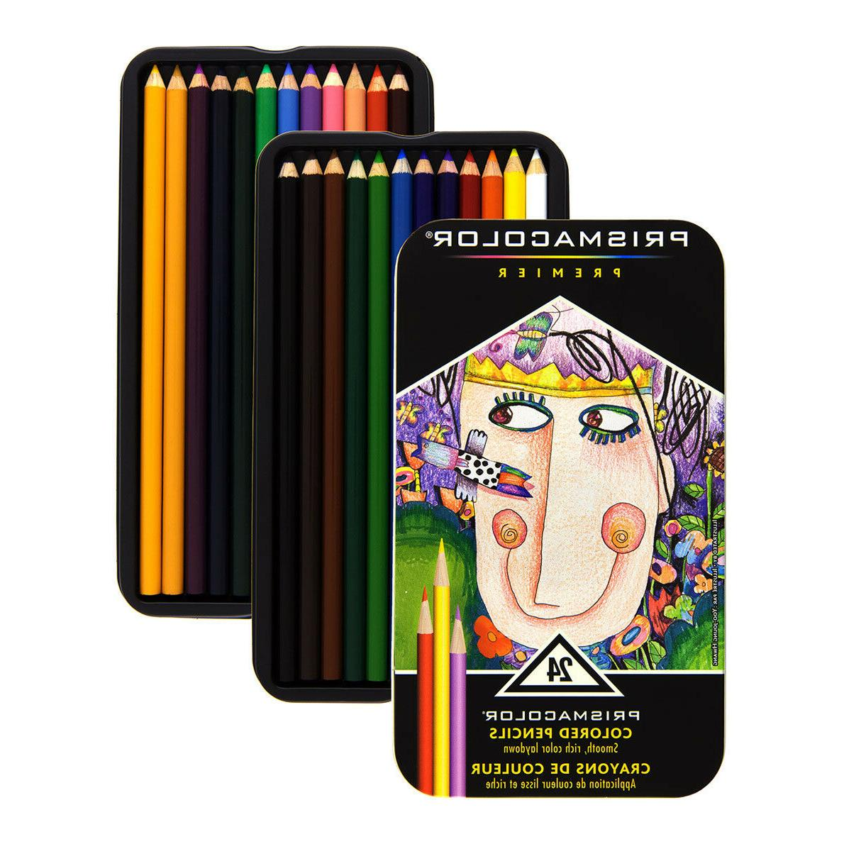 Prismacolor Watercolor Pencils 24/Pkg-