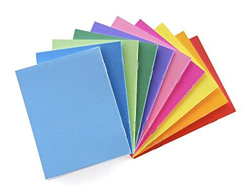 Hygloss Products Colorful Paperback Blank Sketch, Writing, Coloring for and - x Pack Colors
