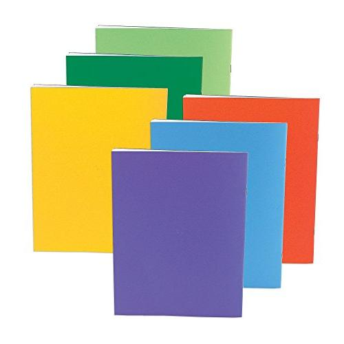 Hygloss Products Blank Books Writing, for and - x Pack of Assorted Colors