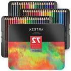 Arteza Professional Colored Pencils Set of 72 Colors, Soft W