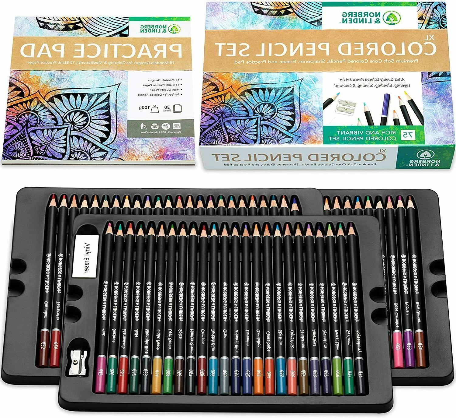 Professional Drawing Oil-Based Colored Pencils Artists Set S