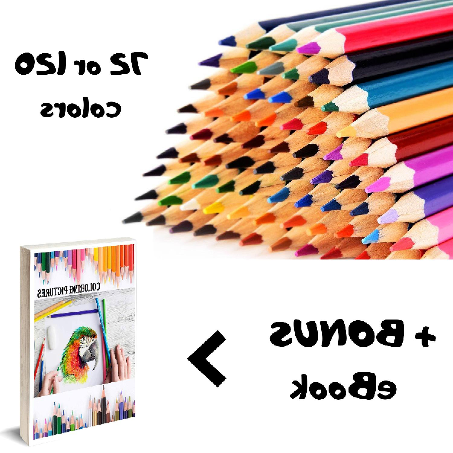 professional grade soft core colored pencils pencil