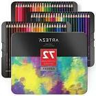 Arteza Professional Watercolor Pencils in Storage Tin, Set o