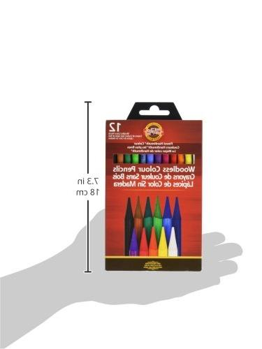 Koh-I-Noor Woodless 12-Pencil Pencils