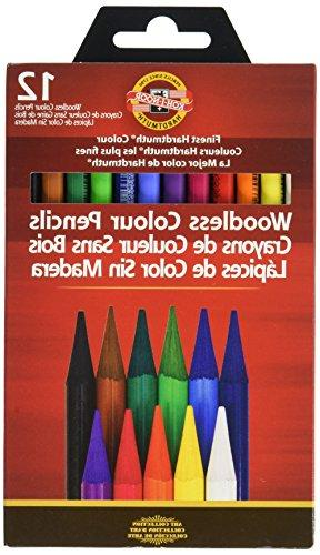 Koh-I-Noor Progresso Woodless 12-Pencil Pencils