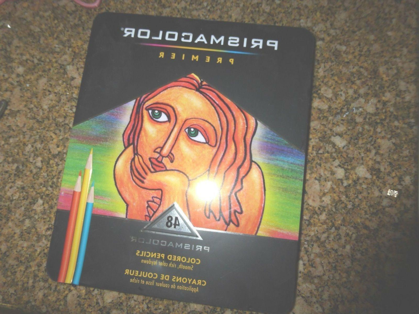 Prismacolor Quality Art Set Premier Colored Pencils 48 Pack