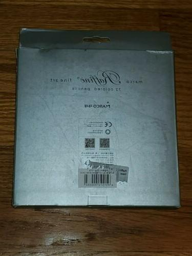 Marco Raffine Art 72 Colored Pencils Drawing Supplies NEW 7100-