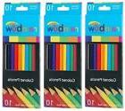 Promarx Rainbow Colored Pencils, Assorted Colors, 10 Count