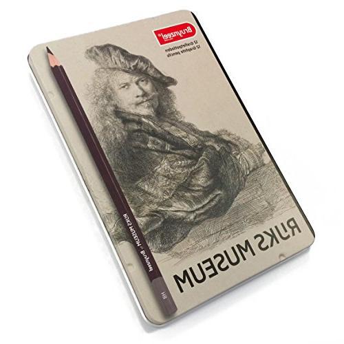 rijks museum edition of 12 graphite pencils