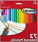 RoseArt Colored Pencils 72-Count Assorted Colors Packaging M