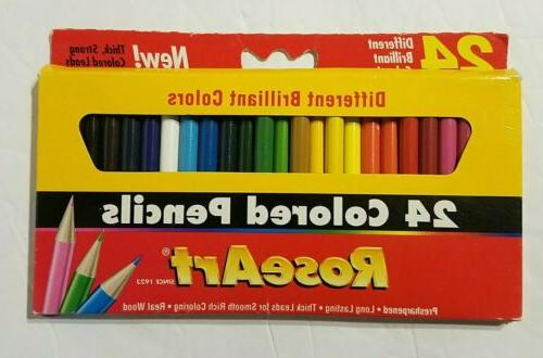 roseart mini pencils assorted may