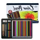 Royal & Langnickel RART-201 36pc Colored Pencil Drawing Tin