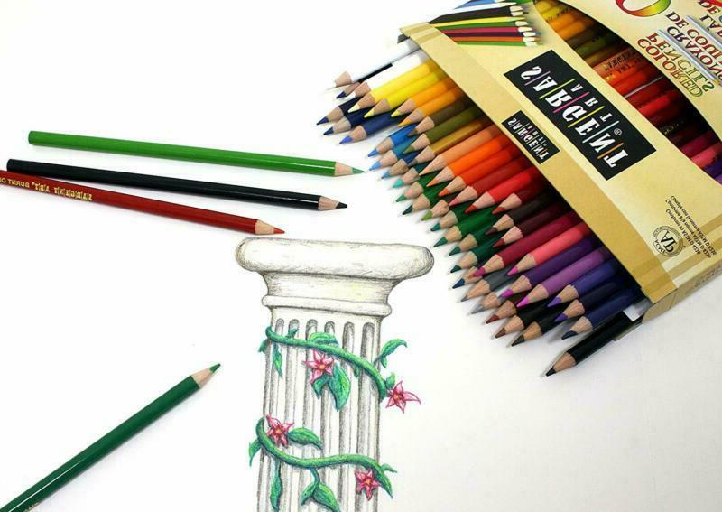 Sargent Art Premium Coloring Pencils, 50 Assorted 22-7251